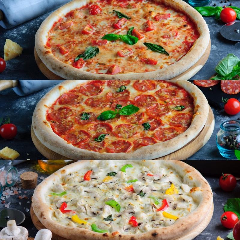 """комбо из пицц """"Классический"""" - фото 1"""